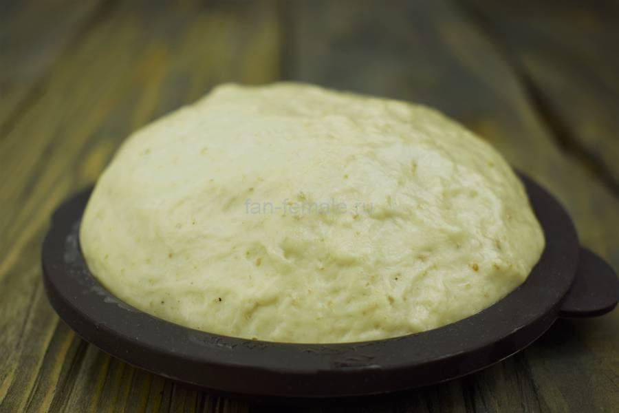 Приготовление хлебных булочек с кунжутом, шаг 4