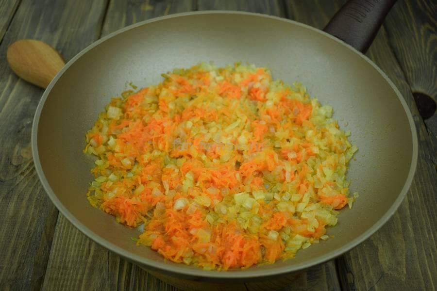 Приготовление перцев, фаршированных пряным рисом, шаг 4