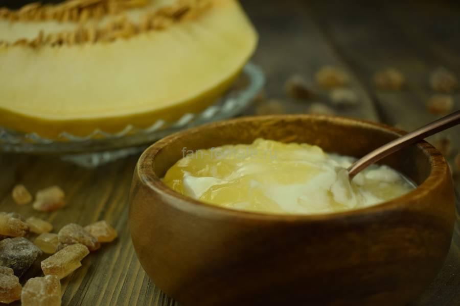 Домашний йогурт с дыней