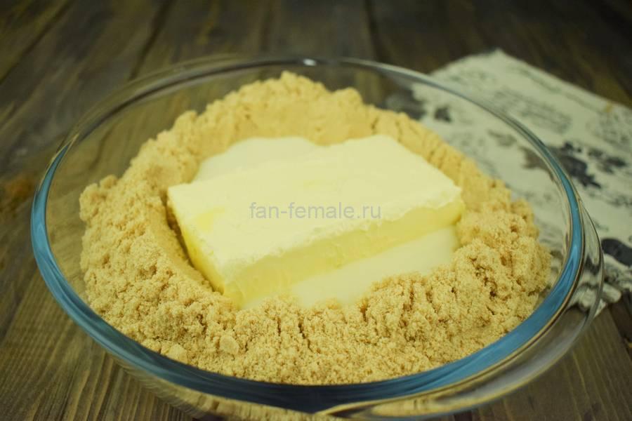 Приготовление пирожного картошки со сливочным кремом, шаг 2