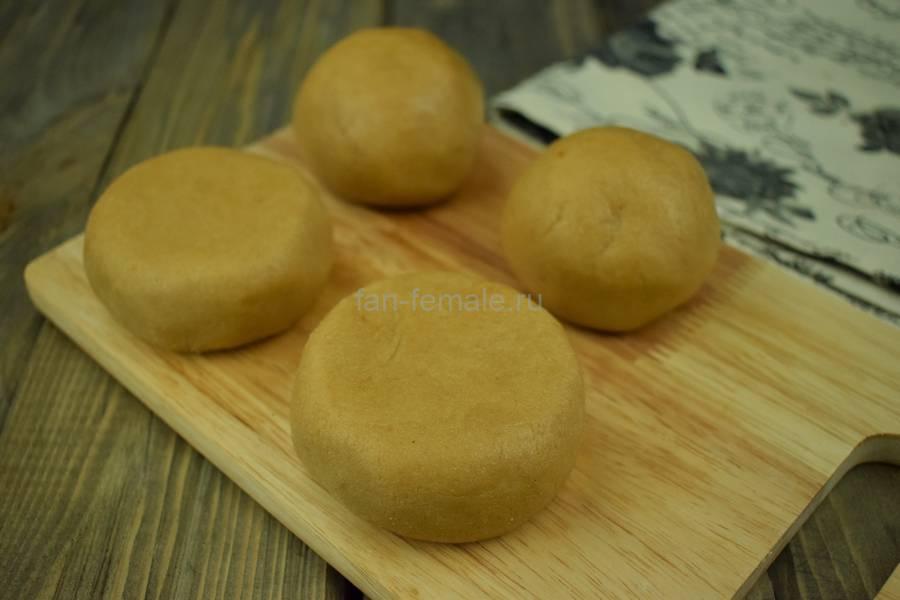 Приготовление пирожного картошки со сливочным кремом, шаг 4