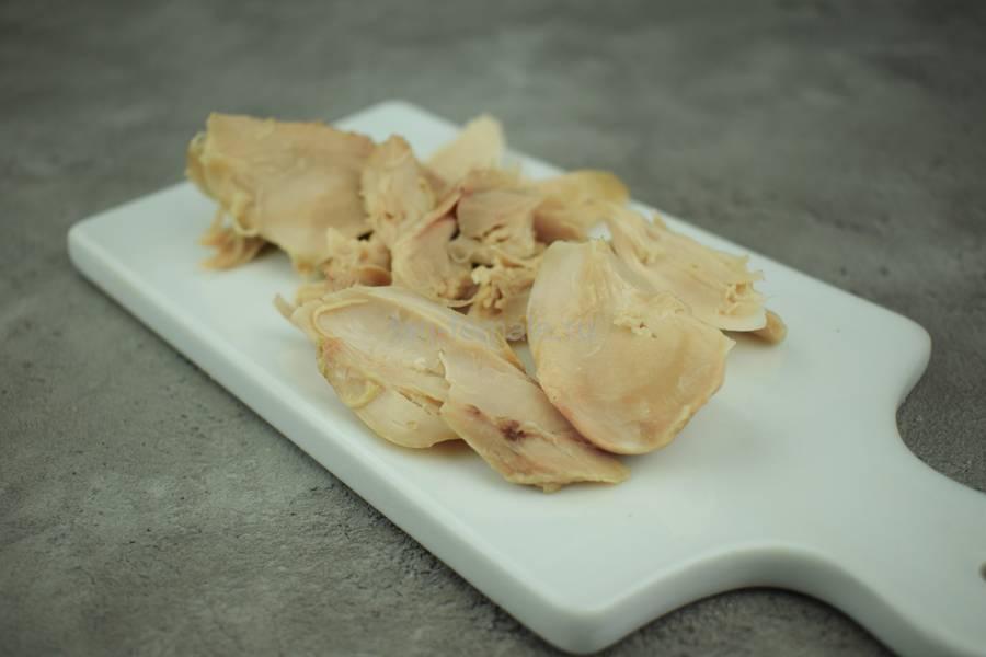 Приготовление щей с курицей, свежей капустой, шампиньонами, шаг 7