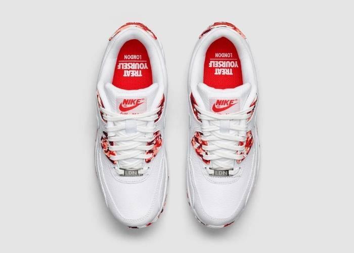 Кроссовки Nike Air Max Лондон мороженое «Итон Месс»