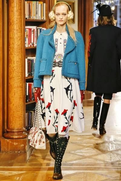 Твидовый жакет с платьем