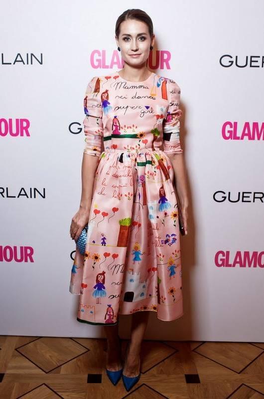 Ирина Курбатова в Dolce & Gabbana