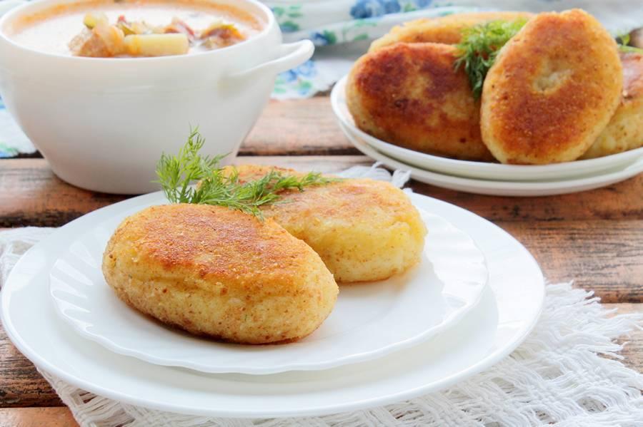 Картофельные зразы с фаршем