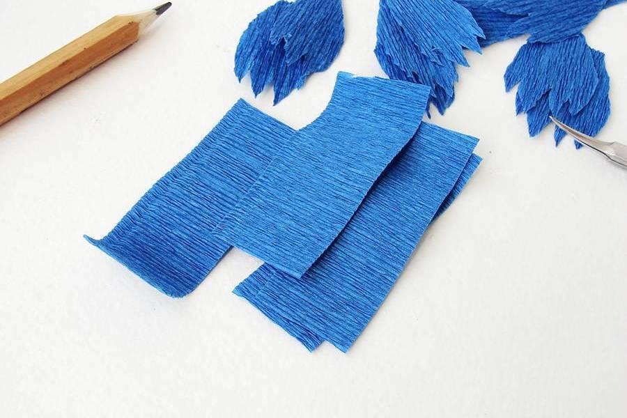 Изготовление поделки из бумаги, шаг 5