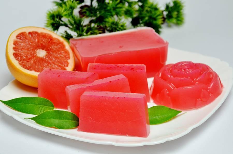 Домашний мармелад из грейпфрута