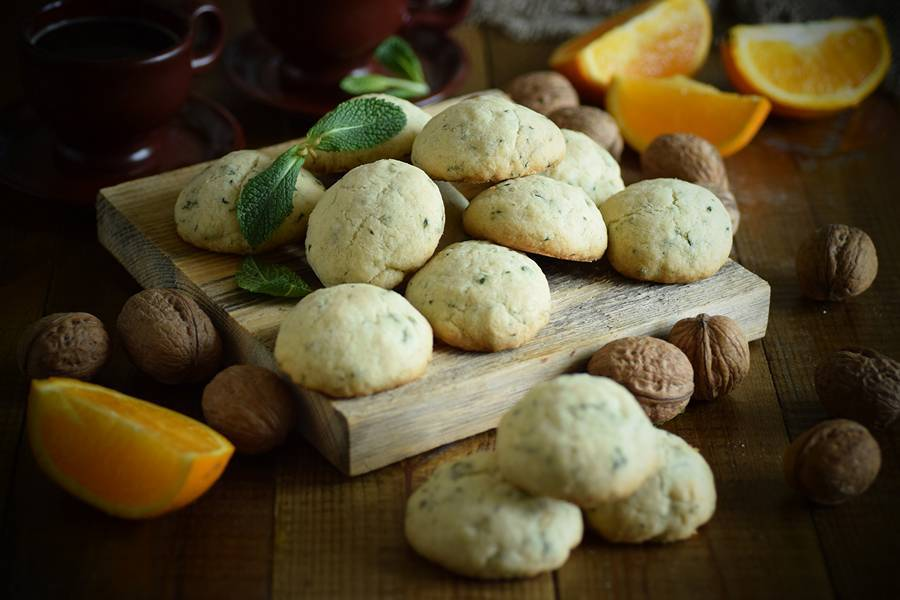Мятное печенье