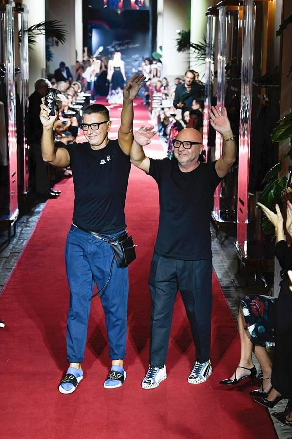 Показ Dolce & Gabbana в Милане, 2018