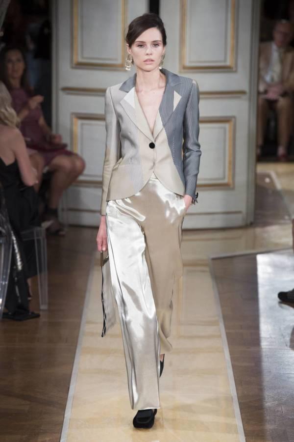 Коллекция Armani Prive осень-зима 2018–2019 на Неделе высокой моды в Париже выход 1