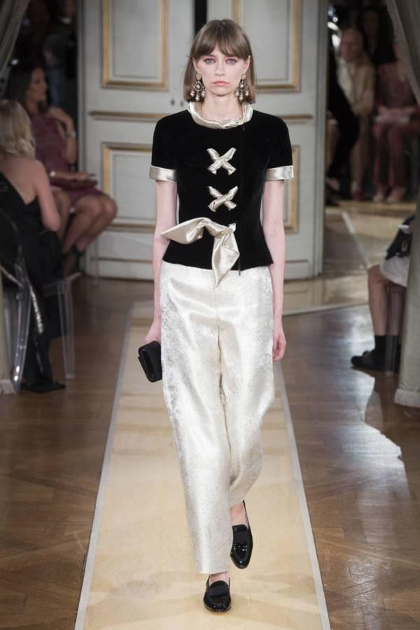 Коллекция Armani Prive осень-зима 2018–2019 на Неделе высокой моды в Париже выход 10