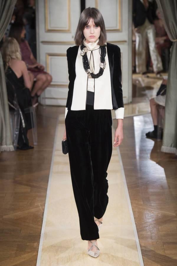 Коллекция Armani Prive осень-зима 2018–2019 на Неделе высокой моды в Париже выход 12