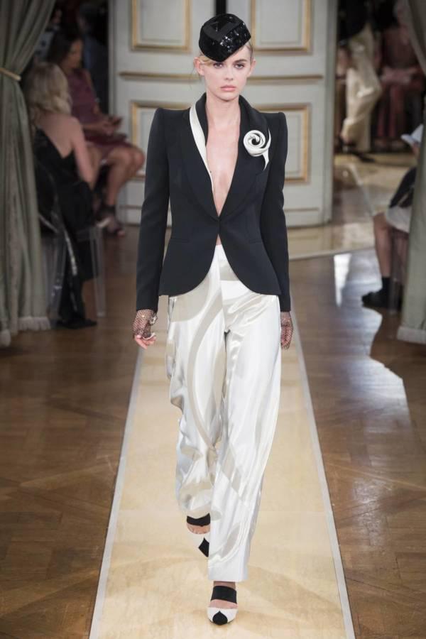 Коллекция Armani Prive осень-зима 2018–2019 на Неделе высокой моды в Париже выход 13