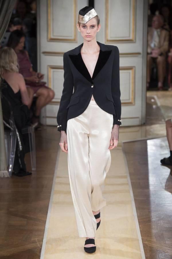Коллекция Armani Prive осень-зима 2018–2019 на Неделе высокой моды в Париже выход 14