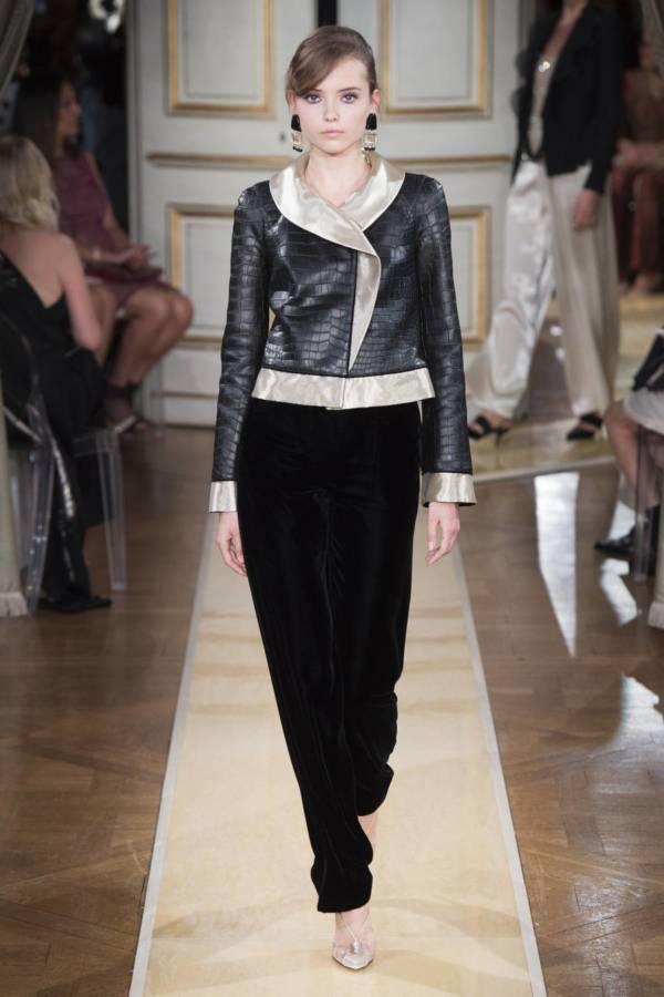 Коллекция Armani Prive осень-зима 2018–2019 на Неделе высокой моды в Париже выход 15