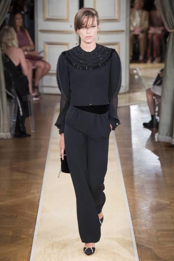 Коллекция Armani Prive осень-зима 2018–2019 на Неделе высокой моды в Париже выход 20