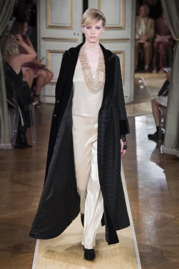 Коллекция Armani Prive осень-зима 2018–2019 на Неделе высокой моды в Париже выход 21