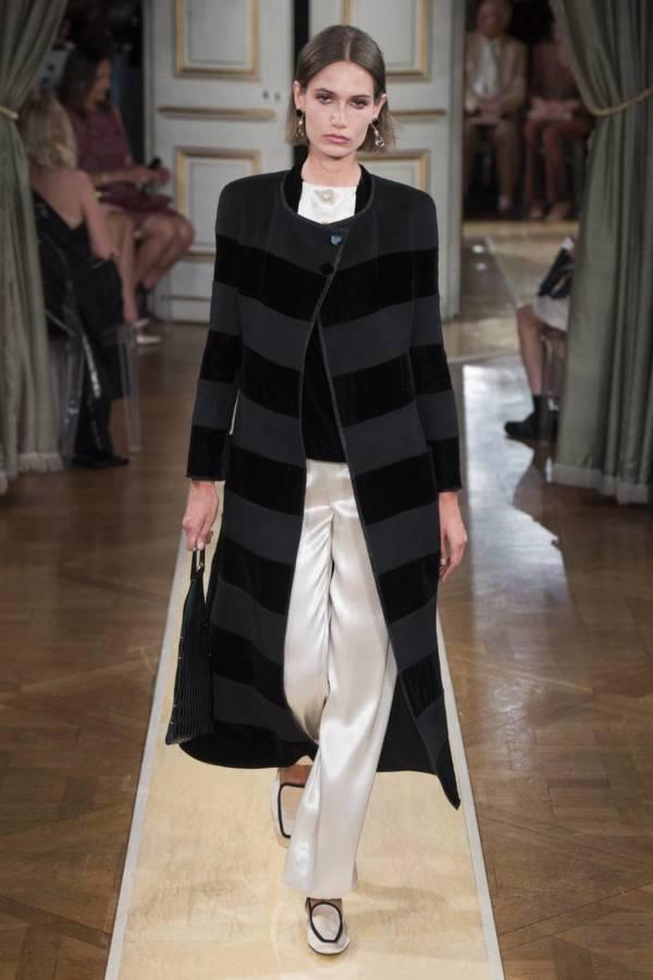 Коллекция Armani Prive осень-зима 2018–2019 на Неделе высокой моды в Париже выход 24
