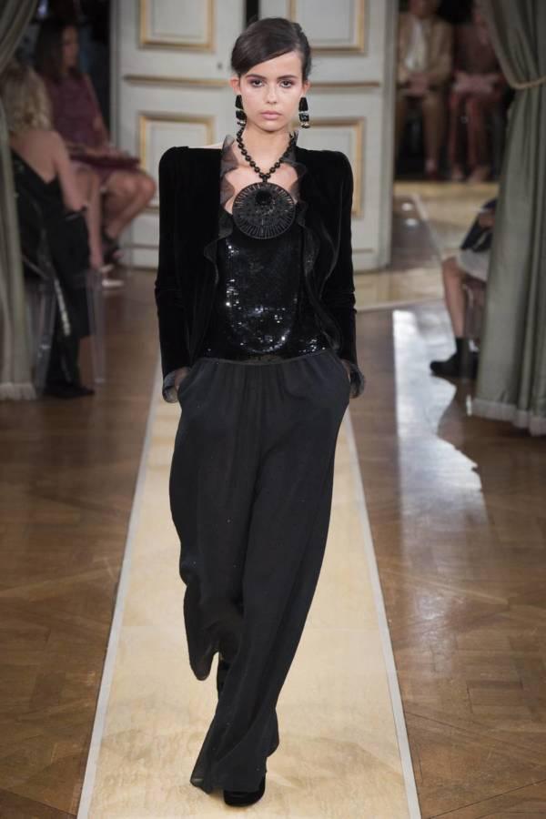 Коллекция Armani Prive осень-зима 2018–2019 на Неделе высокой моды в Париже выход 27