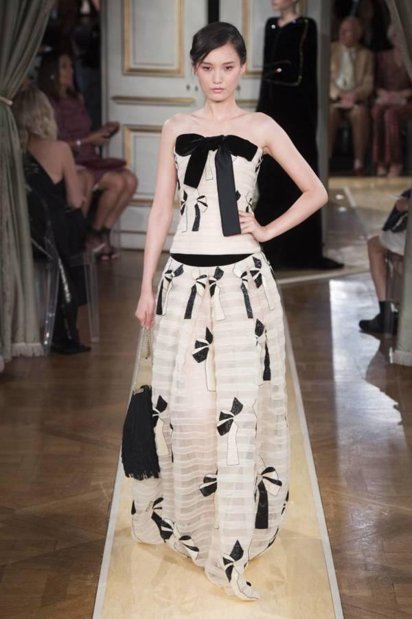 Коллекция Armani Prive осень-зима 2018–2019 на Неделе высокой моды в Париже выход 28
