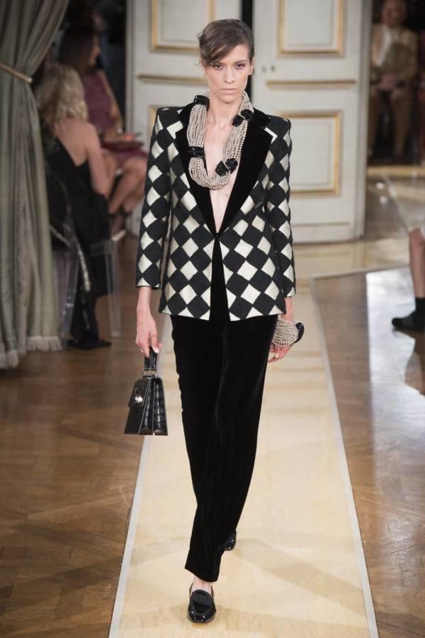 Коллекция Armani Prive осень-зима 2018–2019 на Неделе высокой моды в Париже выход 3