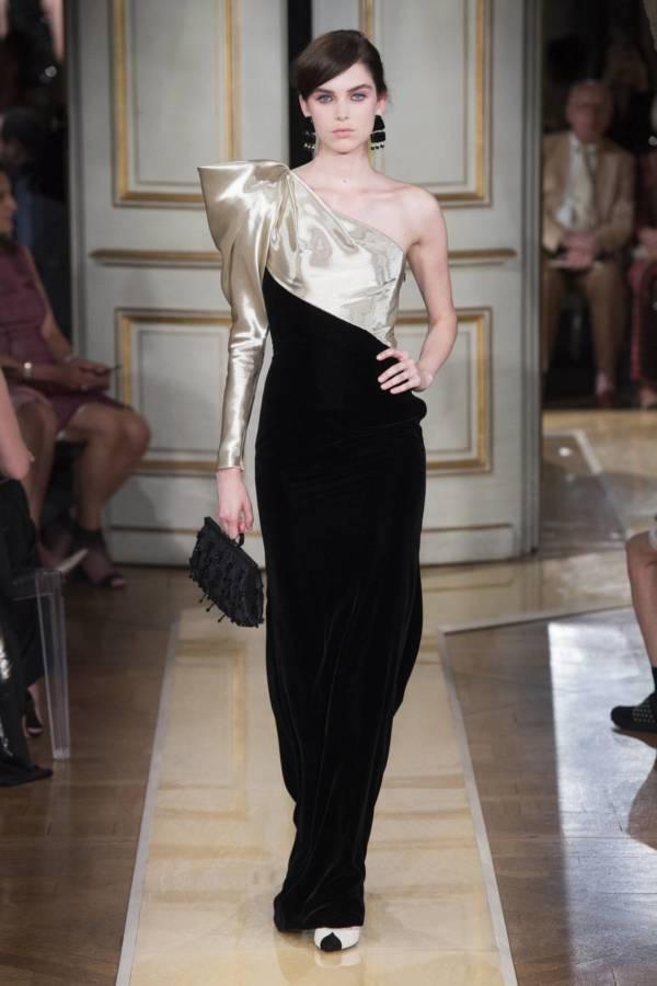Коллекция Armani Prive осень-зима 2018–2019 на Неделе высокой моды в Париже выход 33