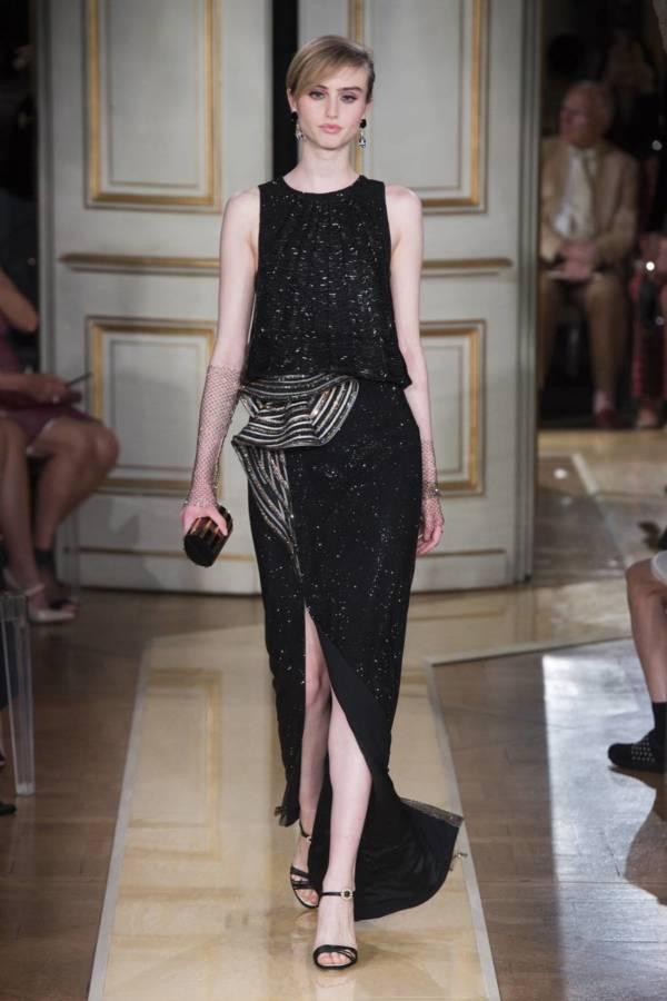 Коллекция Armani Prive осень-зима 2018–2019 на Неделе высокой моды в Париже выход 35