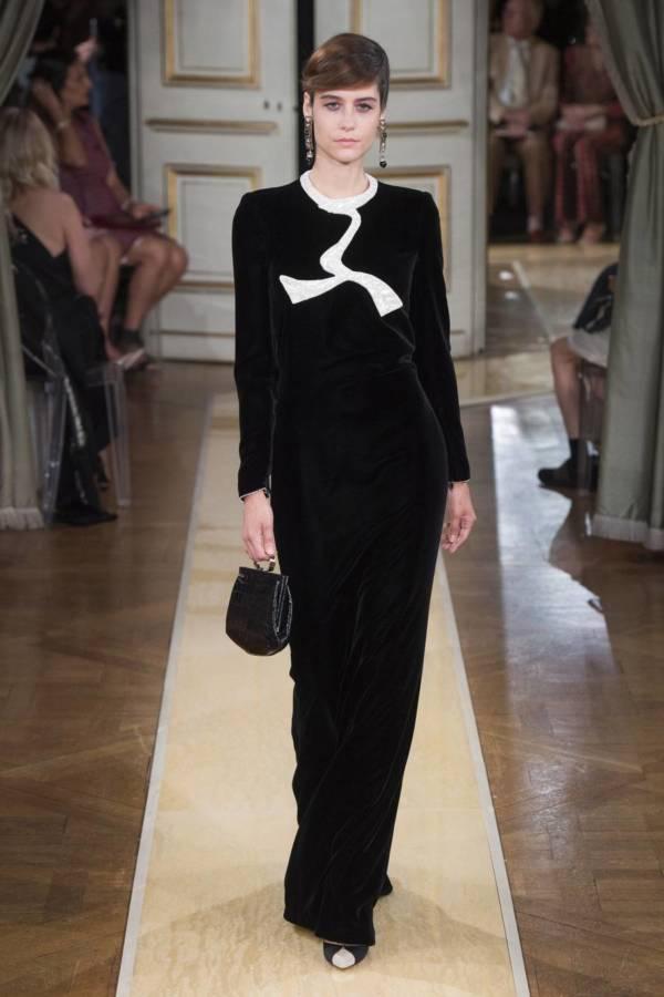 Коллекция Armani Prive осень-зима 2018–2019 на Неделе высокой моды в Париже выход 36