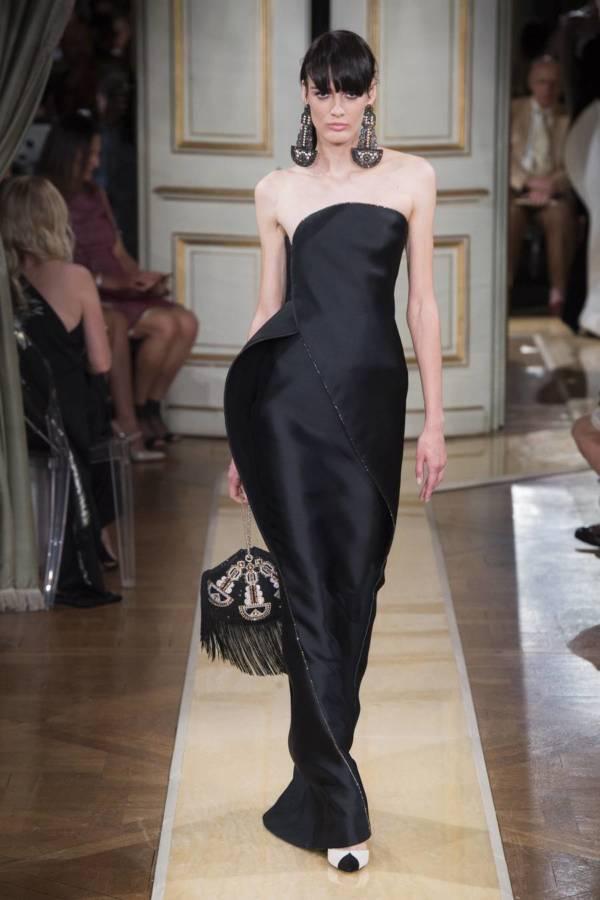 Коллекция Armani Prive осень-зима 2018–2019 на Неделе высокой моды в Париже выход 38