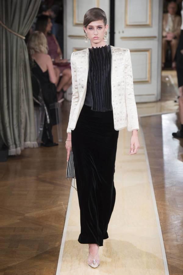 Коллекция Armani Prive осень-зима 2018–2019 на Неделе высокой моды в Париже выход 4