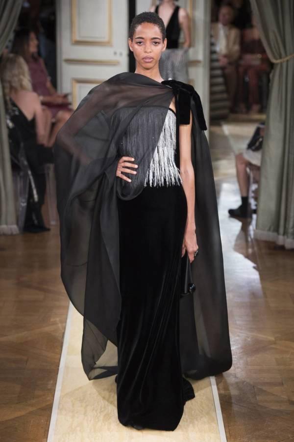 Коллекция Armani Prive осень-зима 2018–2019 на Неделе высокой моды в Париже выход 41