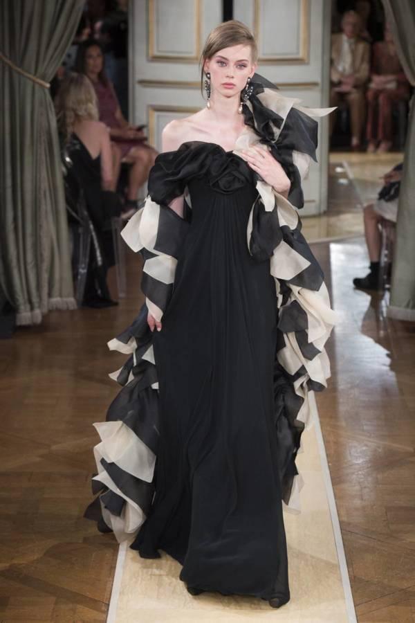 Коллекция Armani Prive осень-зима 2018–2019 на Неделе высокой моды в Париже выход 44