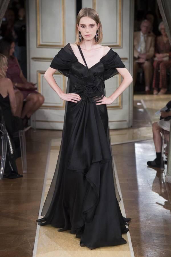 Коллекция Armani Prive осень-зима 2018–2019 на Неделе высокой моды в Париже выход 45