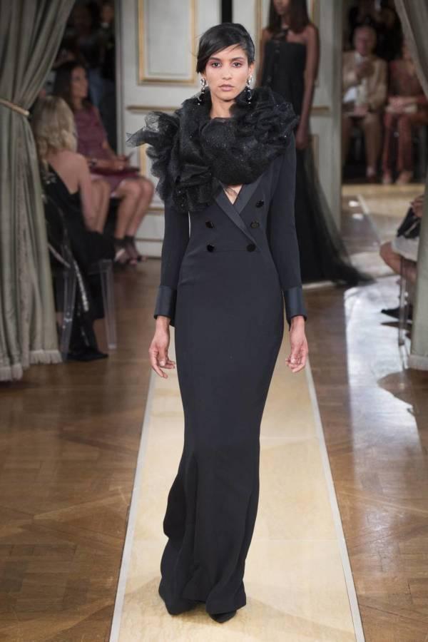 Коллекция Armani Prive осень-зима 2018–2019 на Неделе высокой моды в Париже выход 46
