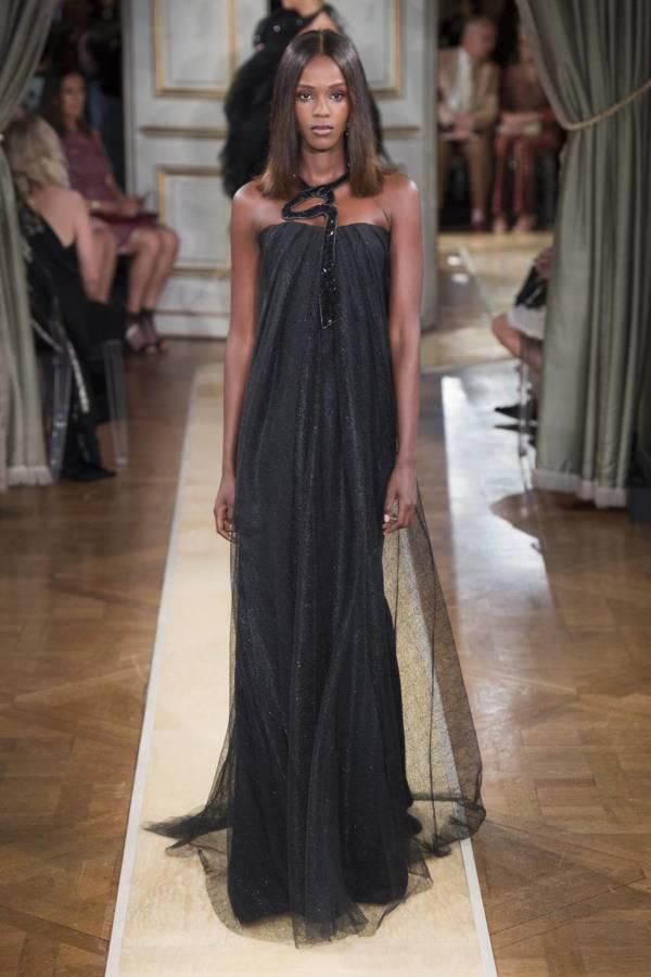 Коллекция Armani Prive осень-зима 2018–2019 на Неделе высокой моды в Париже выход 47