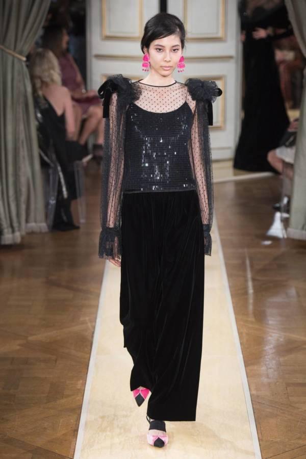 Коллекция Armani Prive осень-зима 2018–2019 на Неделе высокой моды в Париже выход 49