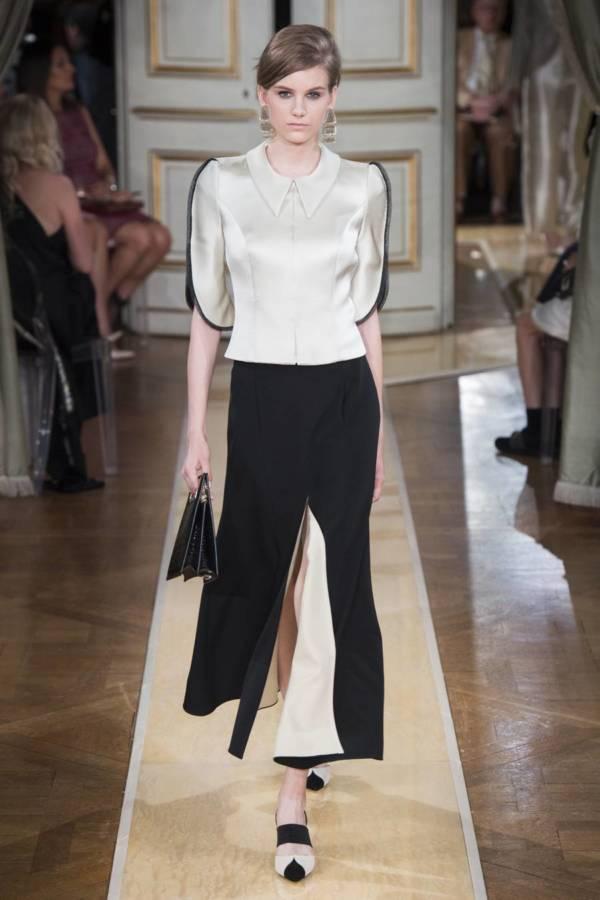 Коллекция Armani Prive осень-зима 2018–2019 на Неделе высокой моды в Париже выход 5