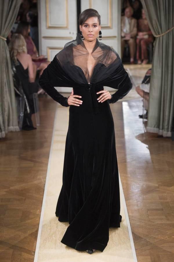Коллекция Armani Prive осень-зима 2018–2019 на Неделе высокой моды в Париже выход 50