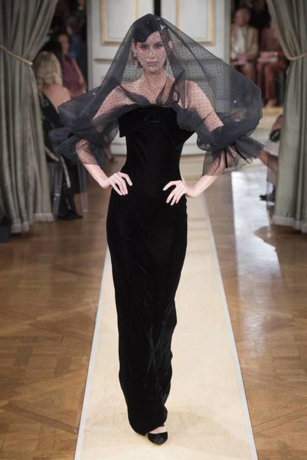 Коллекция Armani Prive осень-зима 2018–2019 на Неделе высокой моды в Париже выход 52