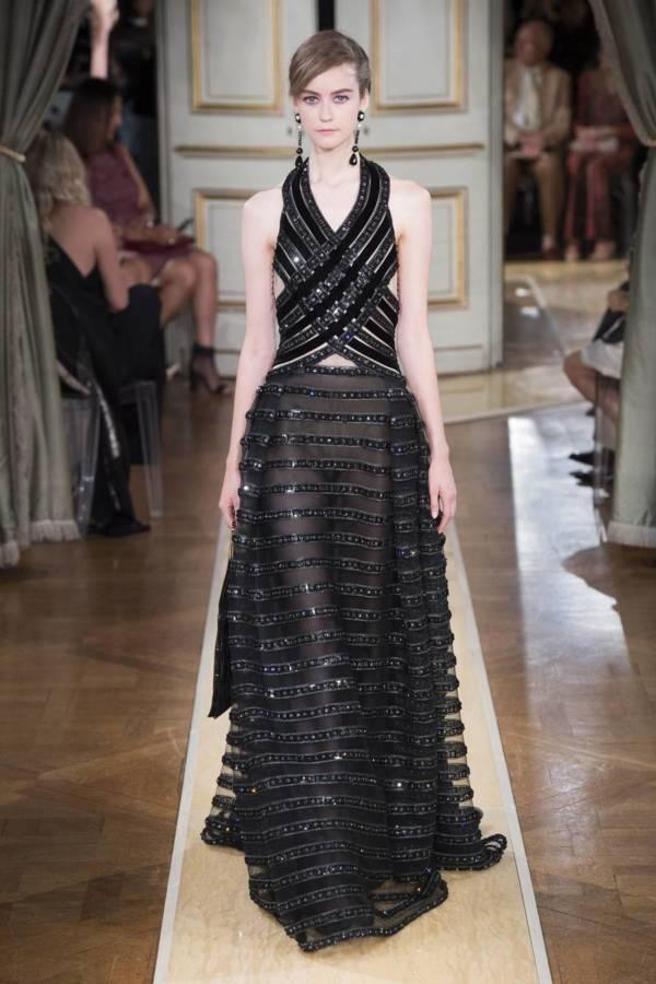 Коллекция Armani Prive осень-зима 2018–2019 на Неделе высокой моды в Париже выход 53