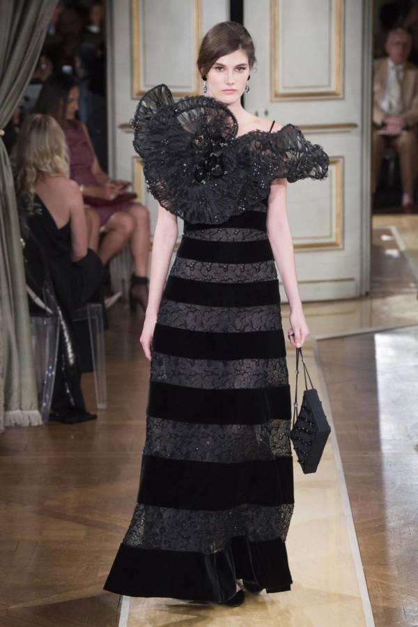 Коллекция Armani Prive осень-зима 2018–2019 на Неделе высокой моды в Париже выход 54