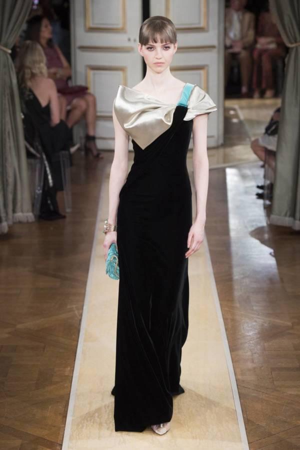 Коллекция Armani Prive осень-зима 2018–2019 на Неделе высокой моды в Париже выход 55