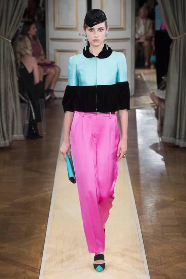 Коллекция Armani Prive осень-зима 2018–2019 на Неделе высокой моды в Париже выход 58
