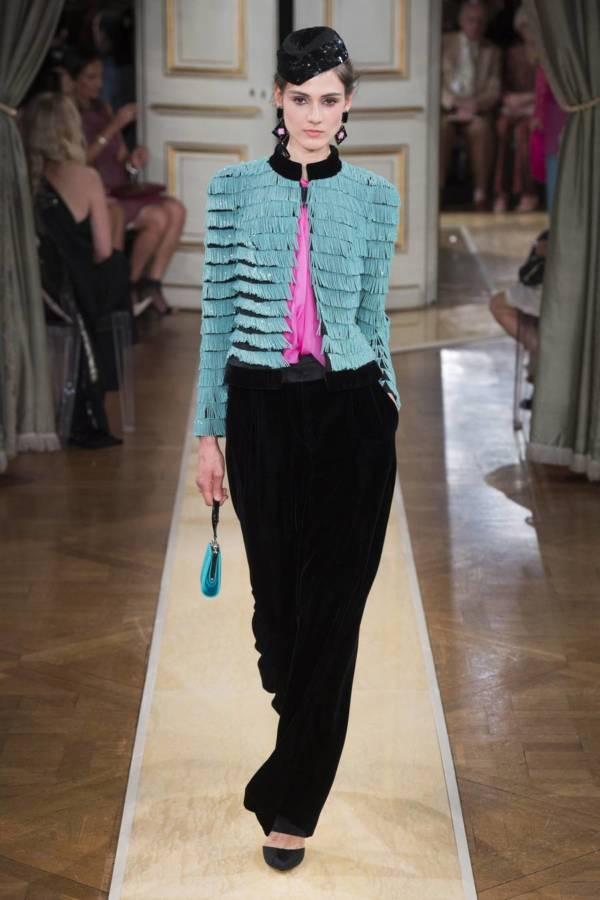 Коллекция Armani Prive осень-зима 2018–2019 на Неделе высокой моды в Париже выход 59