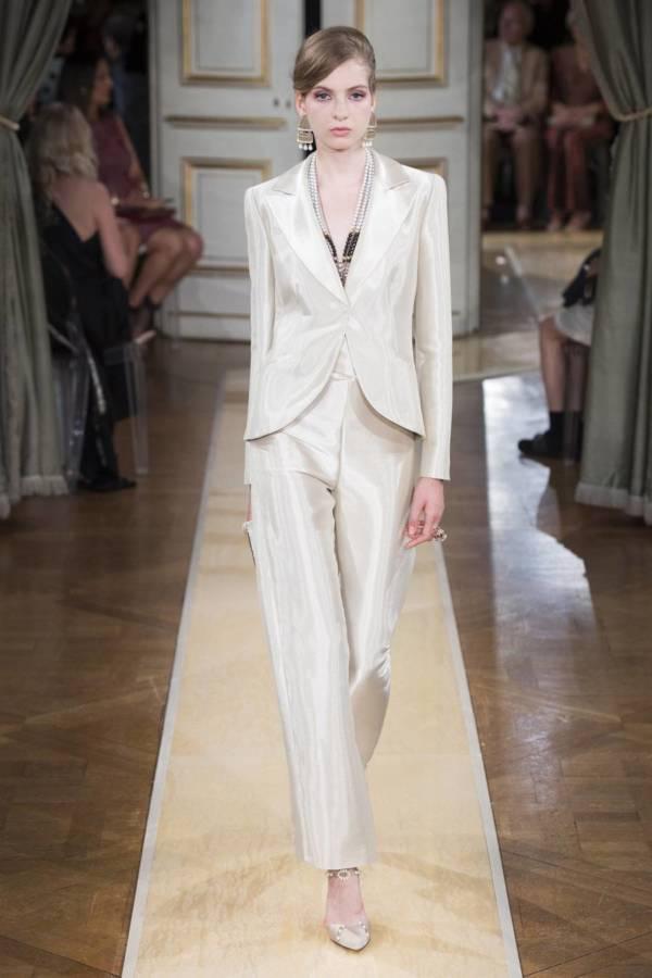 Коллекция Armani Prive осень-зима 2018–2019 на Неделе высокой моды в Париже выход 6