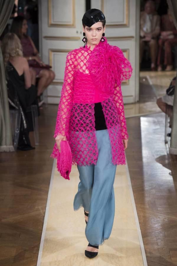 Коллекция Armani Prive осень-зима 2018–2019 на Неделе высокой моды в Париже выход 60