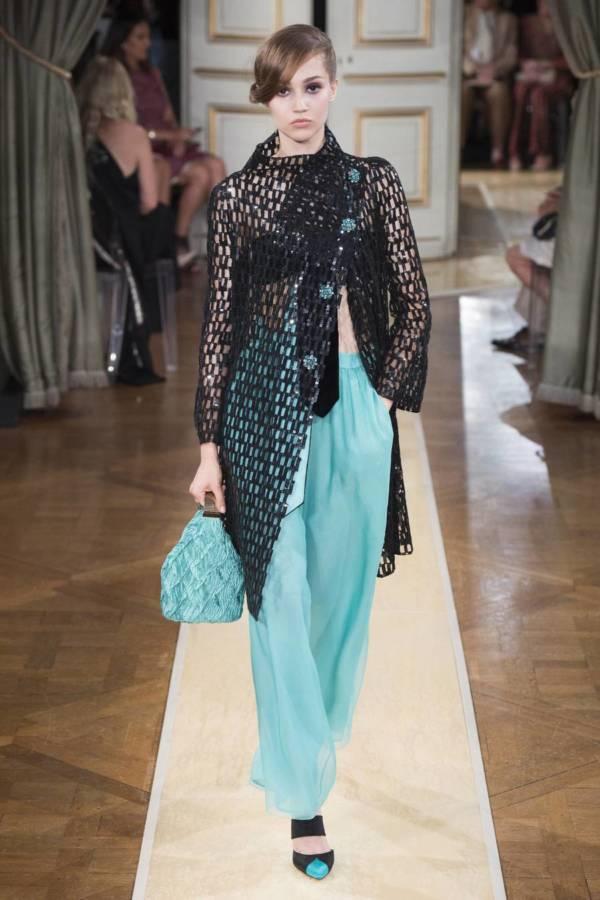 Коллекция Armani Prive осень-зима 2018–2019 на Неделе высокой моды в Париже выход 63