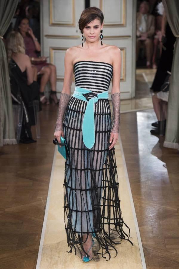 Коллекция Armani Prive осень-зима 2018–2019 на Неделе высокой моды в Париже выход 64