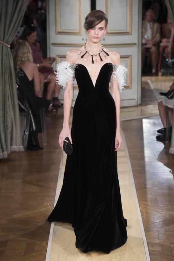 Коллекция Armani Prive осень-зима 2018–2019 на Неделе высокой моды в Париже выход 65